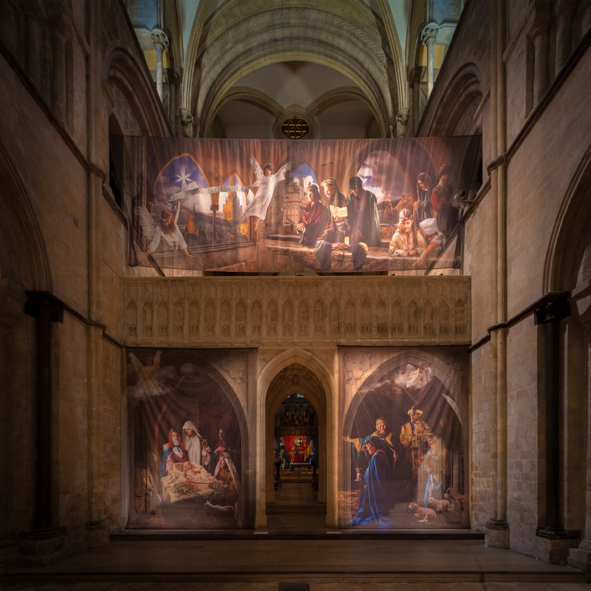 Sanctuary in Chi members in stunning Cathedral Nativity artwork